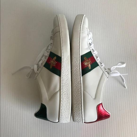 e8e0b8e3c Gucci Shoes | Women Ace Embroidered Bee Web Sneaker 85 | Poshmark